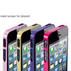 Hot selling Low MOQ aluminum alloy bumper for iphone 5,with screw for iphone 5 bumper