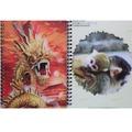 a granel lindo 3d cuaderno espiral de diseño