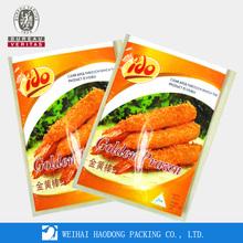 Resealable food grade plastic bags/zip lock snack plastic doy pack