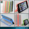 2013 kickstand unique design plastic pc case for apple iphone 5C