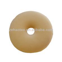 hot comfortable 100% natural latex round memory foam cushion