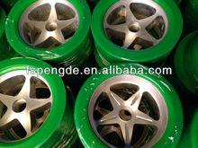 Aluminium core PU elastic wheel