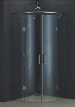 tempered glass new design round shower enclosure