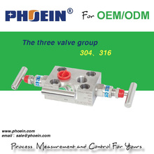 high quality hydraulic stop valve/3 valve manifold