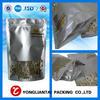 2014 custom printing silver plastic foil bag manufacturer