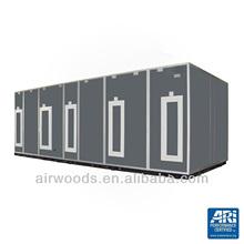 cooling/heating multifunctional low air leakage medical air handling air processor system