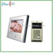 one indoor monitor , one luxury cast iron out door camera 7 inch video door phone