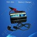 12vcc coche del cargador de batería 20a