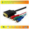 china wholesale high quality vga to 3rca cable for Multimedia