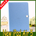 high quality leather stand smart cover case for ipad air 5