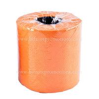 Orange Colored Toilet Paper