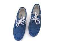 Boat Shoes Men Slip On Canvas Shoes