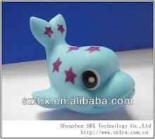 small vinyl dolphin/lovely vinyl dophin/cute vinyl dolphin