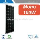 solar panel 100w 12v