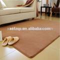 Design moderno venda quente rosa tapete de espuma de memória shaggy-de-rosa tapete