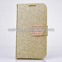 Luxury Flip Folio Leather Casefor Samsung Galaxy S4