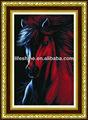 decorativos da parede da parede do cavalo de pedra mosaico de imagem