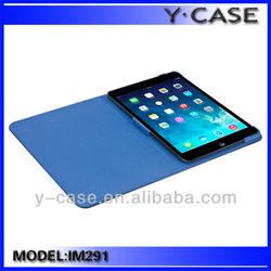 China manufacturer stand leather protective smart cover case for Ipad mini retina/ipad mini2