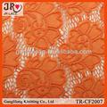 cor laranja brilhante malha ou tecido tela do laço