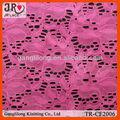 sexy rosa gedruckt spitzenstoff für glänzende kleider