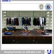 Customized durable interior metal sports goods display racks