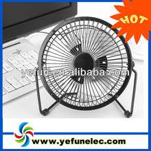 "FU-0401 2013 best selling dc 5v mini 4"" computer usb table fan manufacturer"
