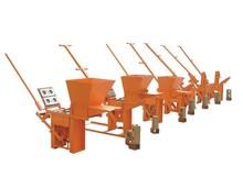 hand press manual interlocking clay brick making machine QMR2-40/QMR1-40 with cheap price/clay brick making machine