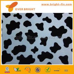 cute velvet pattern self adhesive pvc plastic book cover for student