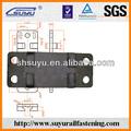 Grooved ferrocarril placa base/de hierro fundido placa base del carril