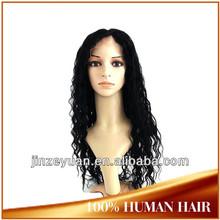 Unprocessed 5A Garde Natural Looking 100% Brazilian Human Hair Wig