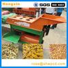 corn peeling and threshing machine / corn stripping and shelling machine