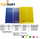No-Toxi Clear Top Load Plastic Document Wallet, Fasenter File Bag Free Sample