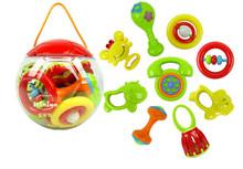 N6103 Q-Baby Niniya colorful plastic baby bell toy