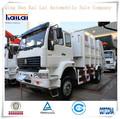 Camiones de basura howo 6x4/los camiones de basura compactadores de japón