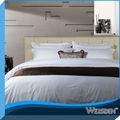 china fornecedor por atacado de tecidos suprimentos hotel romântico de fios de algodão de linho de cama