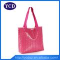 grandes de color rosa llevar bolso de compras bolso de mano