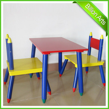 Desk and Chair Set kids School Furniture