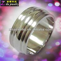316L custom make stainless steel rings