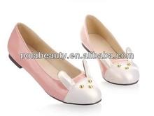 2016 hotest design casual flats shoe women shoe CP6224