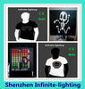 OEM EL t-shirts Customize EL T shirt LED T shirt/custom led t shirt manufacturers in china