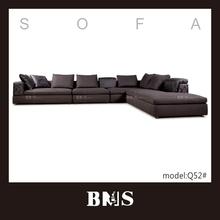 luxo em forma de l sofá de design