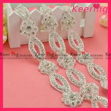 Fashion wholesale Hot sales dress rhinestone accessories WRA-299