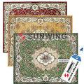 reciclado de alfombras de seda