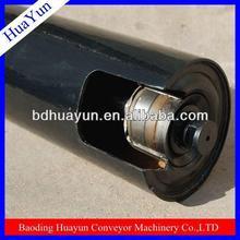 89mm black pipe roller wtih internal thread shaft