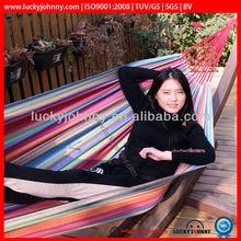 Double cotton hammock swing