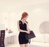 Hot Boutique Mesh Shoulder Korea Ladies Night & Sexy dress