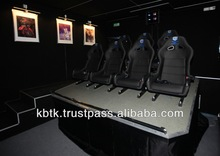 5D cinema 3DOF hydraulic motion platform