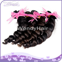 Wholesale new style cheap 5a grade fashion french curl brazilian hair curls