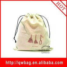Cheap and top quality gunny cloth drawstring bag