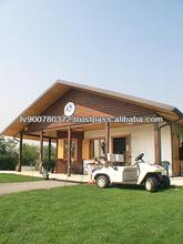 golf club sport building prefabricated in wood